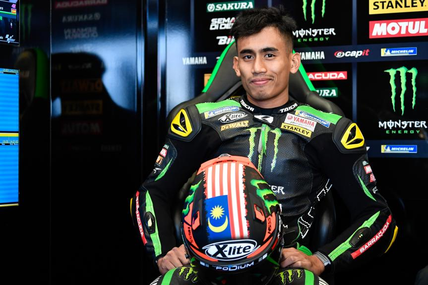 Hafizh Syahrin, Monster Yamaha Tech 3, GoPro British Grand Prix