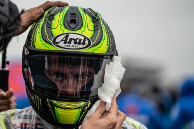 British GP: riders apologise to fans