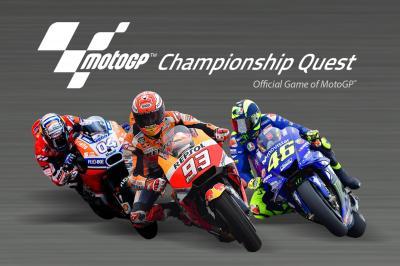 Win amazing prizes with the MotoGP™ Racing App