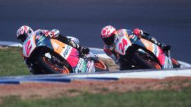 The Japanese rider began as a wildcard in Japan, later riding with Honda, taking 3 podiums before a spinal injury ended his career in 1998