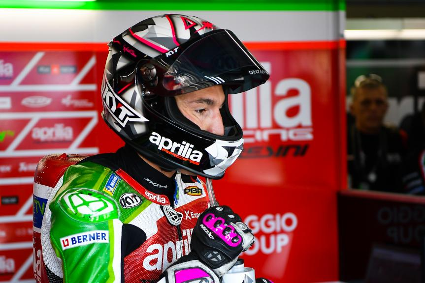 Aleix Espargaro, Aprilia Racing Team Gresini,