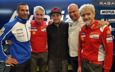 Reale Avintia Racing sign Abraham for 2019 and 2020