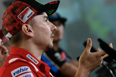 Lorenzo, Dovi and Marc talk about the battle for the top