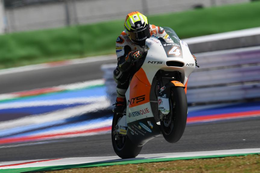 Steven Odendaal, NTS RW Racing GP, Gran Premio Octo di San Marino e della Riviera di Rimini