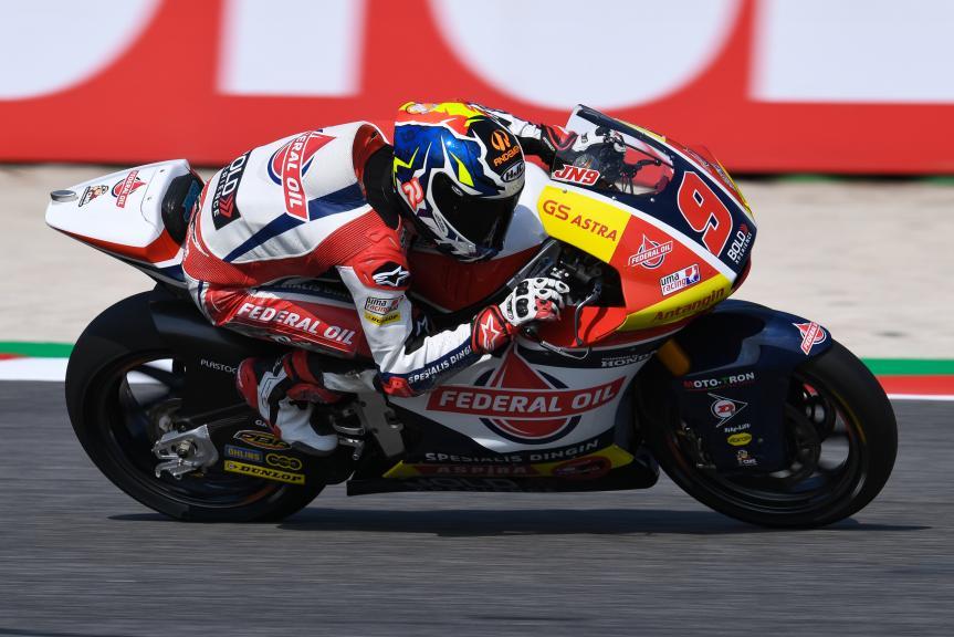 Jorge Navarro, Federal Oil Gresini Moto2, Gran Premio Octo di San Marino e della Riviera di Rimini