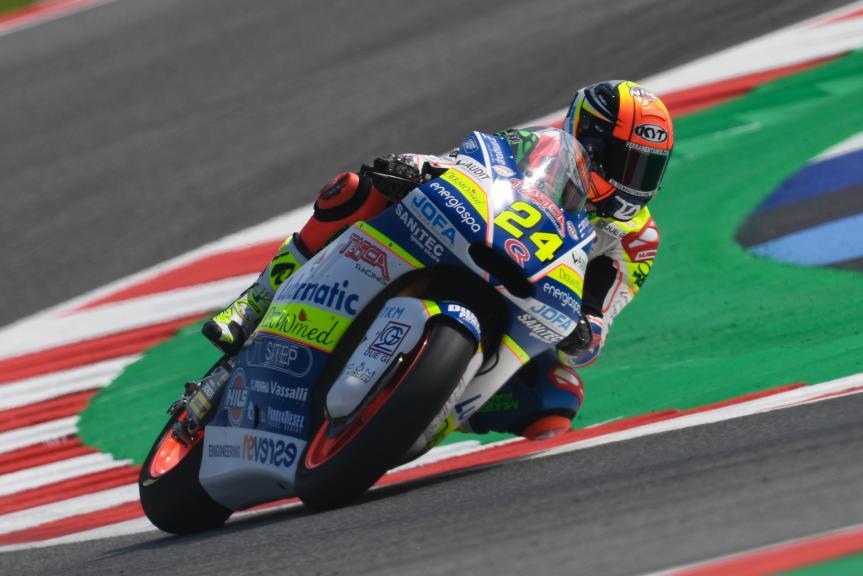 Simone Corsi, Tasca Racing Scuderia Moto2, Gran Premio Octo di San Marino e della Riviera di Rimini