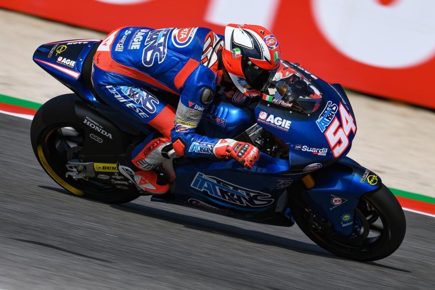 Mattia Pasini, Italtrans Racing Team, Gran Premio Octo di San Marino e della Riviera di Rimini