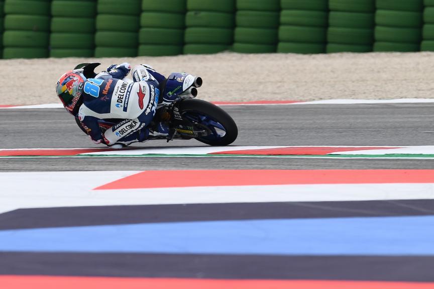 Jorge Martin, Del Conca Gresini Moto3, Gran Premio Octo di San Marino e della Riviera di Rimini