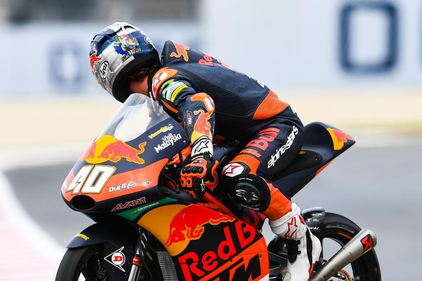 Darryn Binder, Red Bull KTM Ajo, Gran Premio Octo di San Marino e della Riviera di Rimini