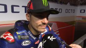Bene sul passo e bene sul giro secco, il numero 25 è pronto per chiudere il digiuno di vittoria Yamaha
