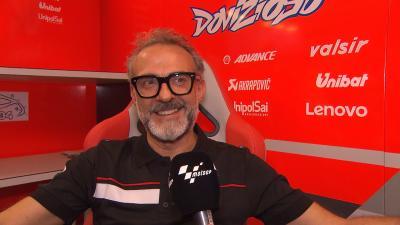World's top chef visits the MotoGP™ paddock at Misano