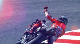 Primato intoccabile del numero 99 nelle qualifiche adriatiche. Miller e Viñales in prima fila, Rossi in terza. Marquez cade e saluta la pole