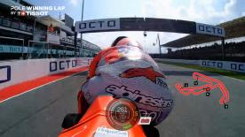 Relive the Jorge Lorenzo pole-winning lap at the Misano World Circuit Marco Simoncelli