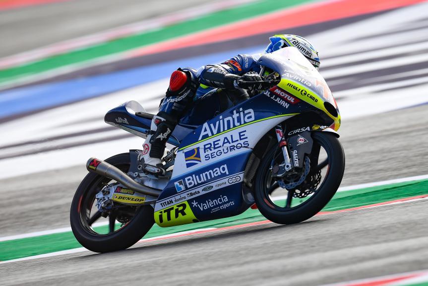 Vicente Perez, Reale Avintia Academy, Gran Premio Octo di San Marino e della Riviera di Rimini