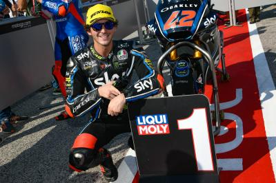 Bagnaia makes it back-to-back poles in Misano qualifying