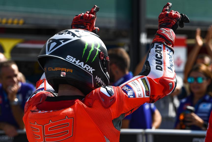 Jorge Lorenzo, Ducati Team, Gran Premio Octo di San Marino e della Riviera di Rimini