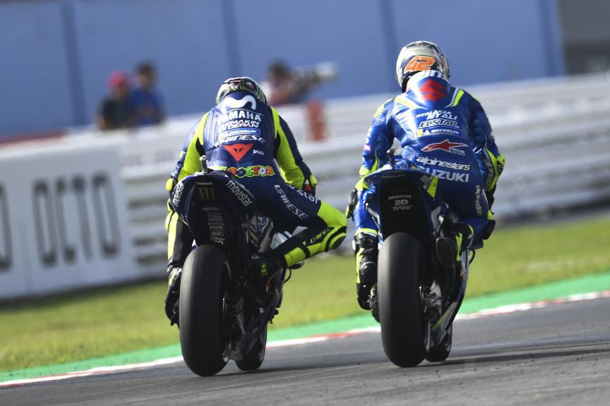 Valentino Rossi, Movistar Yamaha MotoGP, Alex Rins, Team Suzuki Ecstar, Gran Premio Octo di San Marino e della Riviera di Rimini