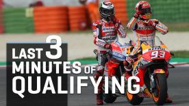 Le fasi più calde della lotta per la pole position. Cadute, salvate, un record infranto e una grande conferma. Imperdibile!