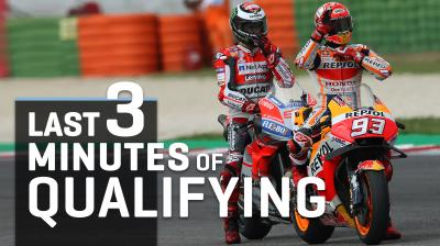 FREE Video: Watch the final laps of qualifying in Misano