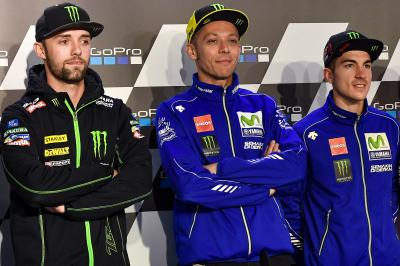 Rossi pressed Yamaha to hire Folger as a test rider