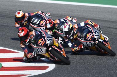 Revivez la course 1 de la Red Bull Rookies Cup à Misano