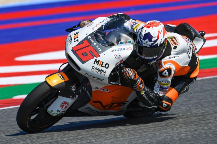 Joe Roberts, NTS RW Racing GP, Gran Premio Octo di San Marino e della Riviera di Rimini