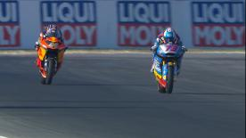 Watch the Warm Up session for Moto2™ in its entirety at the Gran Premio Octo di San Marino e della Riviera di Rimini