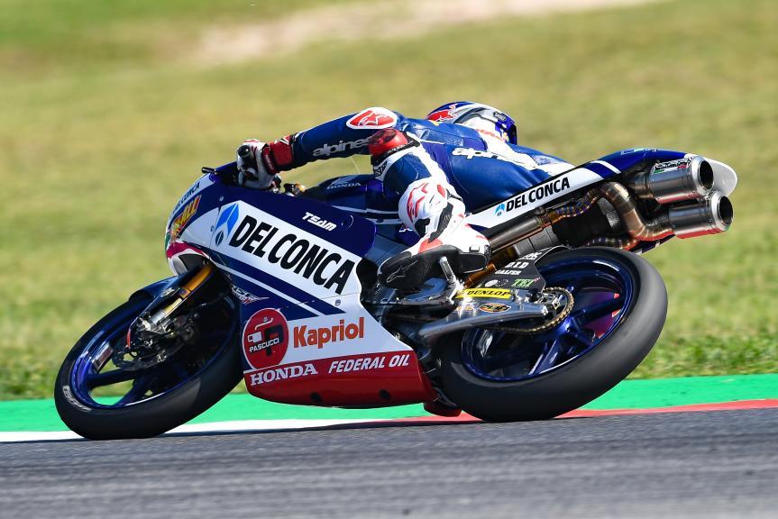 Fabio Di Giannantonio, Del Conca Gresini Moto3, Gran Premio Octo di San Marino e della Riviera di Rimini