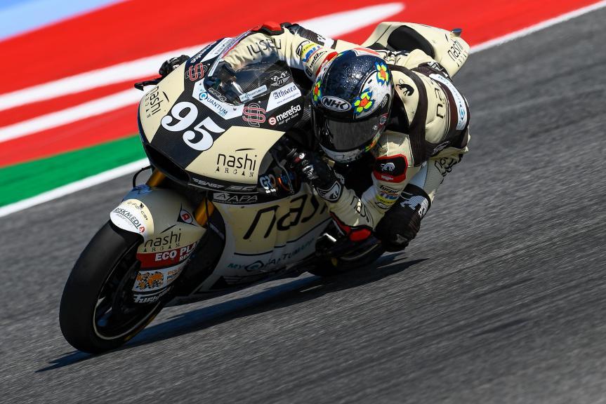 Jules Danilo, Nashi Argan SAG Team, Gran Premio Octo di San Marino e della Riviera di Rimini