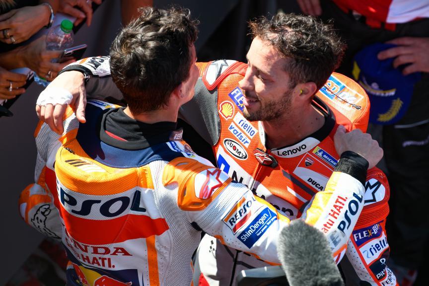 Andrea Dovizioso, Marc Marquez, Gran Premio Octo di San Marino e della Riviera di Rimini