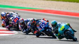 The full race session of the Moto3™ World Championship at the Gran Premio Octo di San Marino e della Riviera di Rimini in Misano