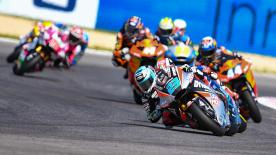The full Moto2™ race at the Gran Premio Octo di San Marino e della Riviera di Rimini in Misano