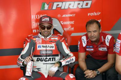 What does Pirro think about the Ducati 2019 Desmosedici?