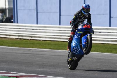 """Bagnaia: """"At the moment we are a step ahead"""""""