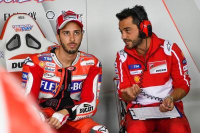 Dovizioso and Giribuola: MotoGP™'s best pitlane partnership?