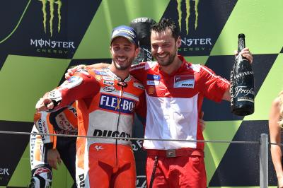 Dovizioso and Giribuola: MotoGP™'s best pitlane partnership?