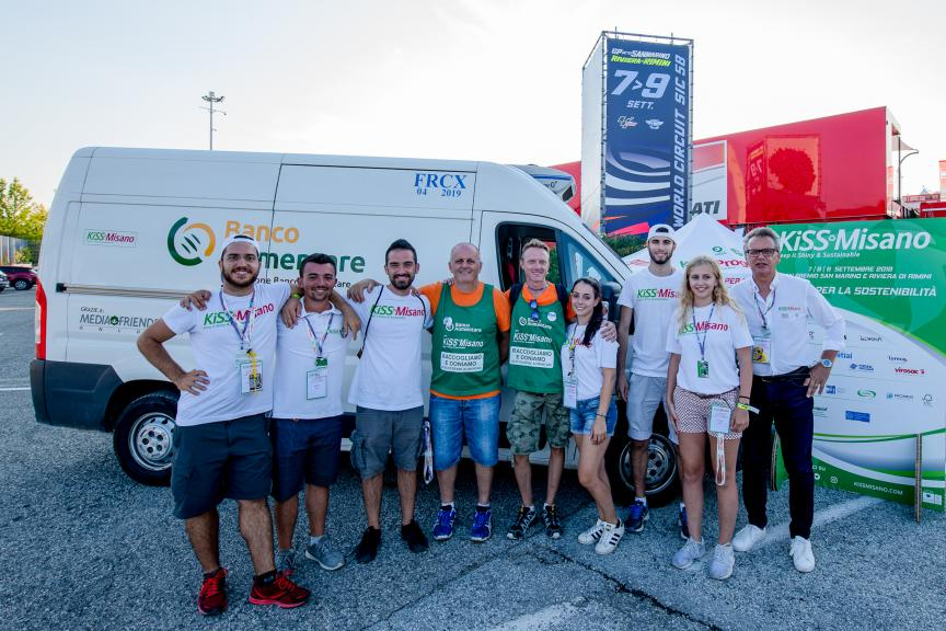 KiSS Misano 2018 Food Surplus Collection Results
