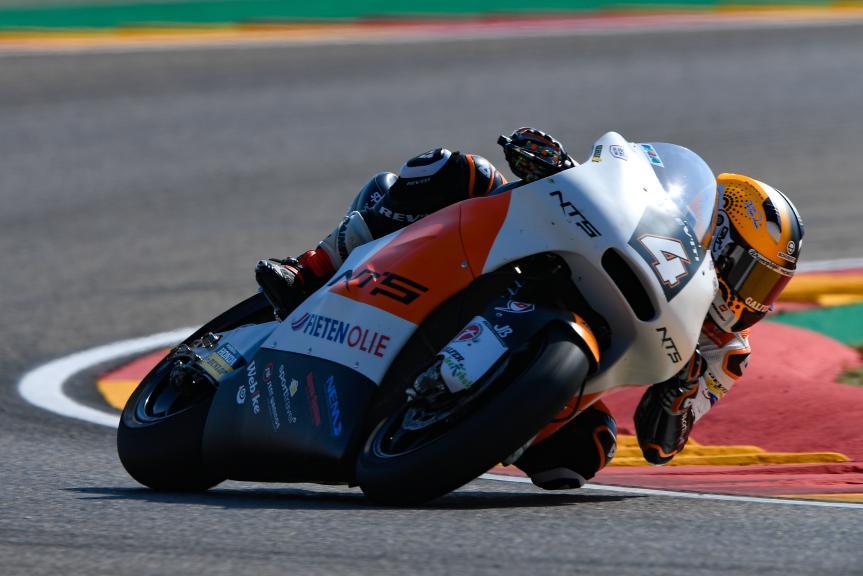 Steven Odendaal, NTS RW Racing GP, Gran Premio Movistar de Aragón