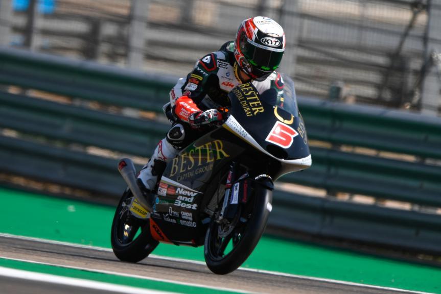 Jaume Masia, Bester Capital Dubai, Gran Premio Movistar de Aragón