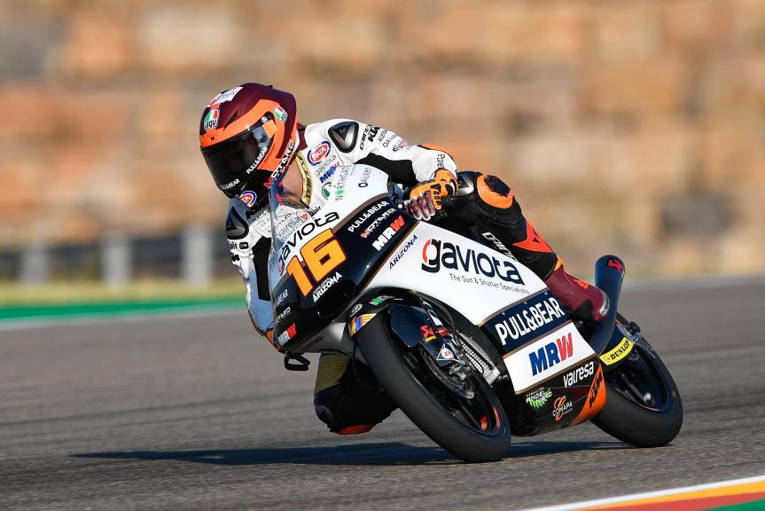 Andrea Migno, Angel Nieto Team Moto3, Gran Premio Movistar de Aragón