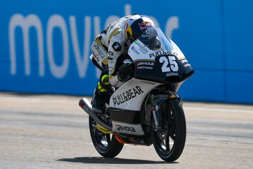 Raul Fernandez, Angel Nieto Team Moto3, Gran Premio Movistar de Aragón