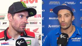 Hear from the MotoGP™ grid and find out how the riders feel after day 1 at MotorLand Aragón