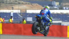 Enjoy some of the best action from the premier class at the Gran Premio Movistar de Aragon in super slow motion