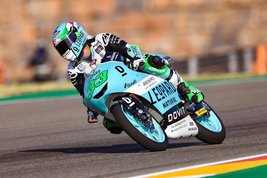 Enea Bastianini, Leopard Racing, Gran Premio Movistar de Aragón