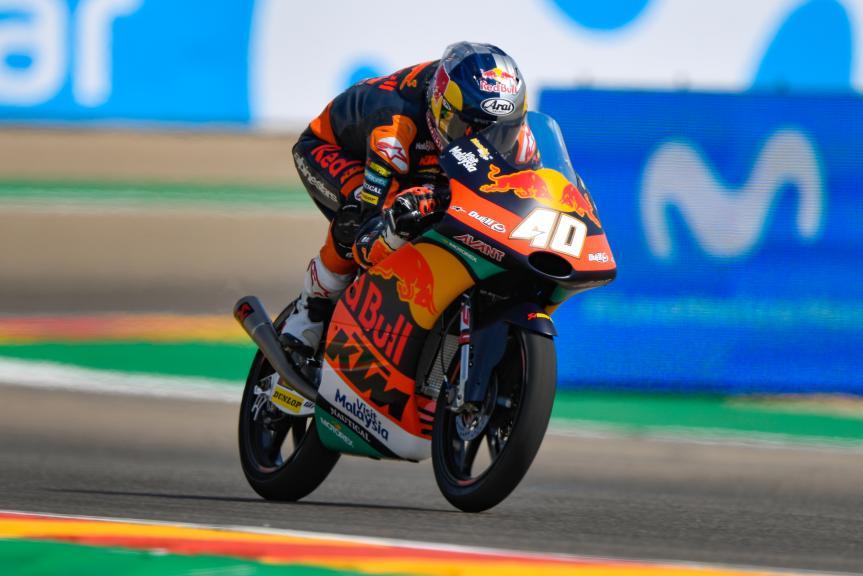 Darryn Binder, Red Bull KTM Ajo, Gran Premio Movistar de Aragón