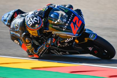 Bagnaia tops FP2, Schrötter remains quickest overall