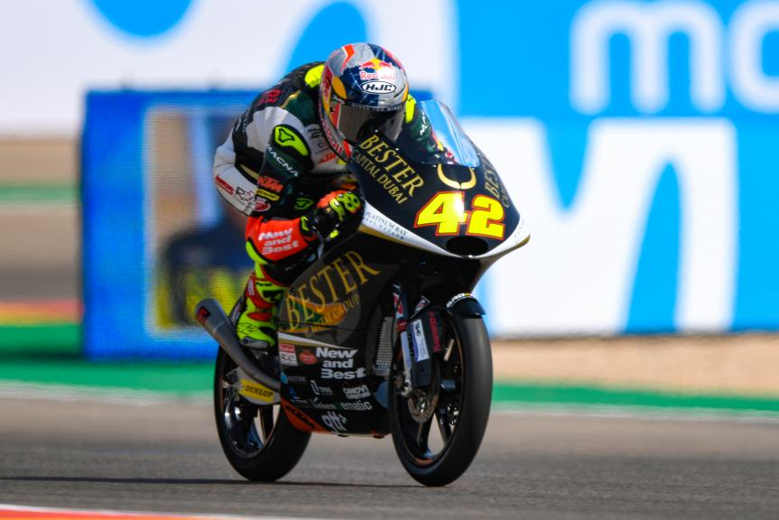 Marcos Ramirez, Bester Capital Dubai, Gran Premio Movistar de Aragón