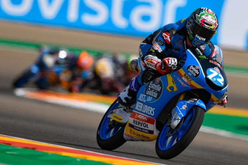 Alonso Lopez, Estrella Galicia 0,0, Gran Premio Movistar de Aragón