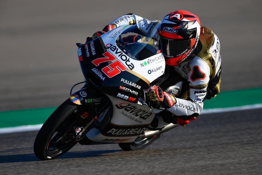 Albert Arenas, Angel Nieto Team Moto3, Gran Premio Movistar de Aragón