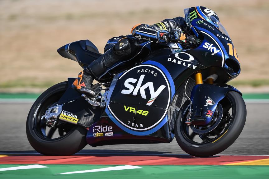 Luca Marini, Sky Racing Team VR46, Gran Premio Movistar de Aragón